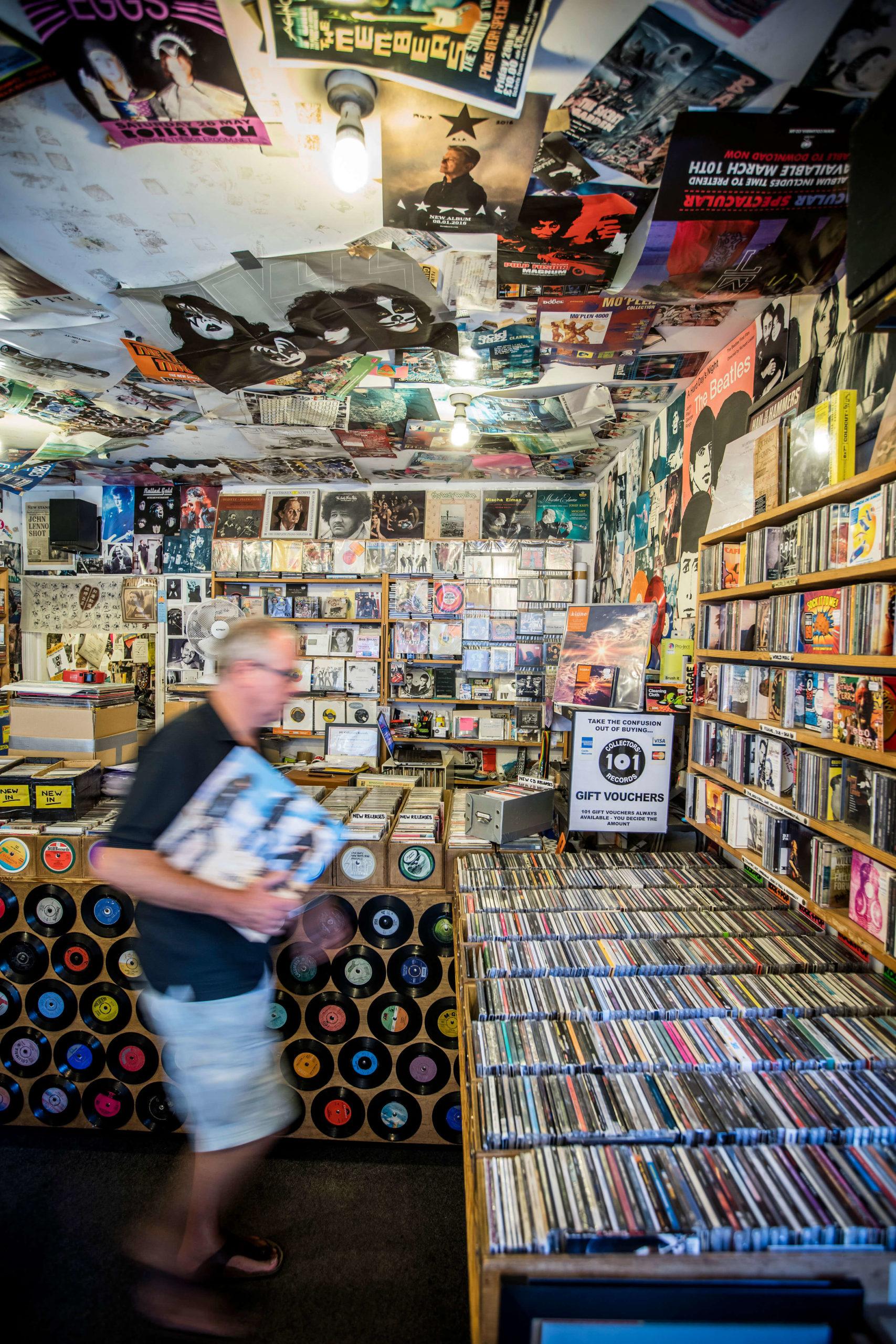 Record shop, Farnham for Hill Residential