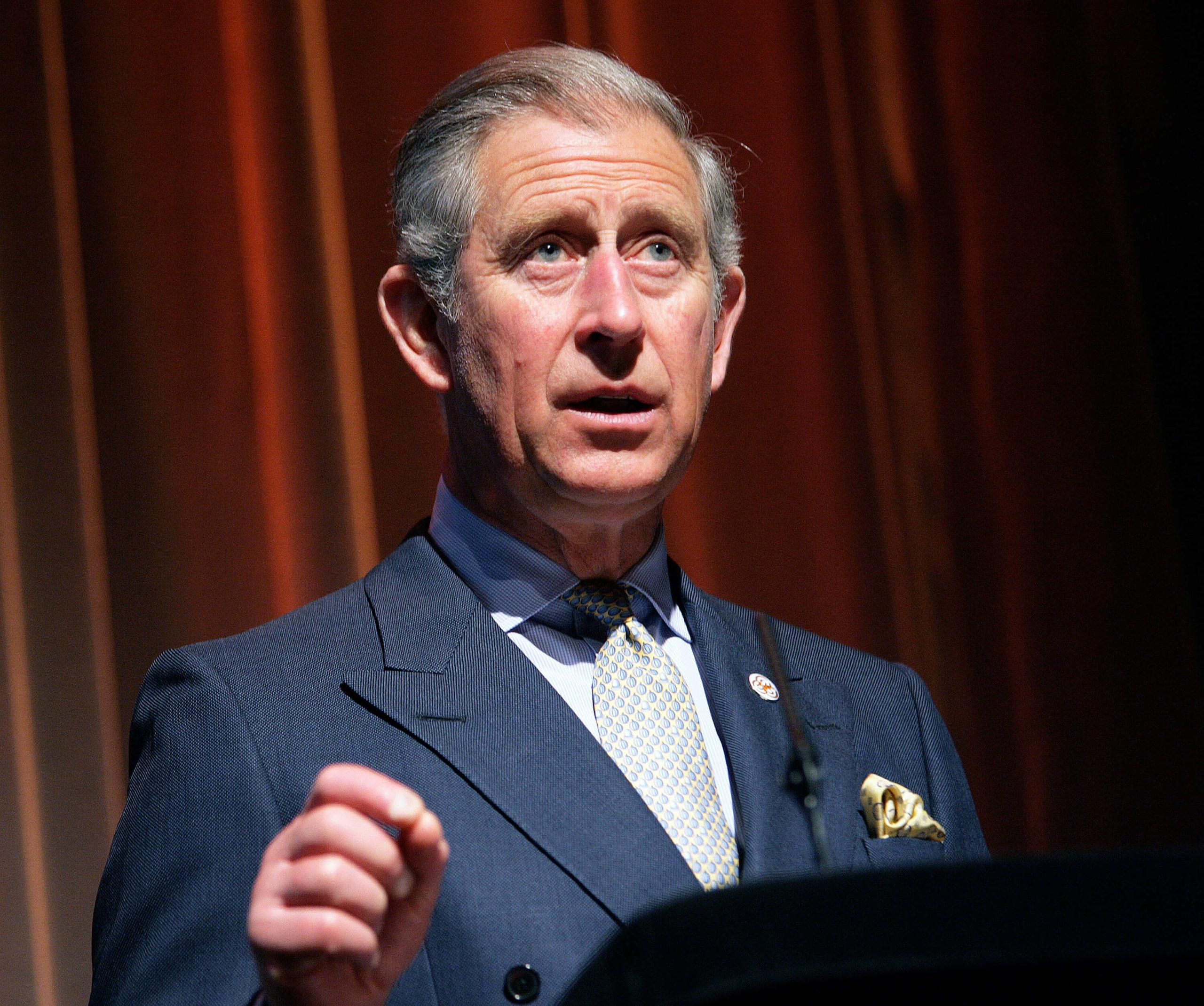 HRH Princes Charles at BAFTA