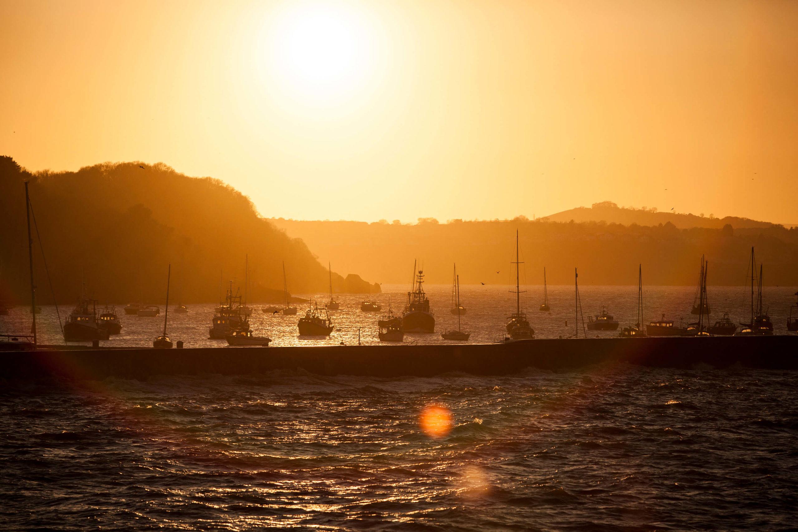 Brixham Harbour seascape for Bloor Homes