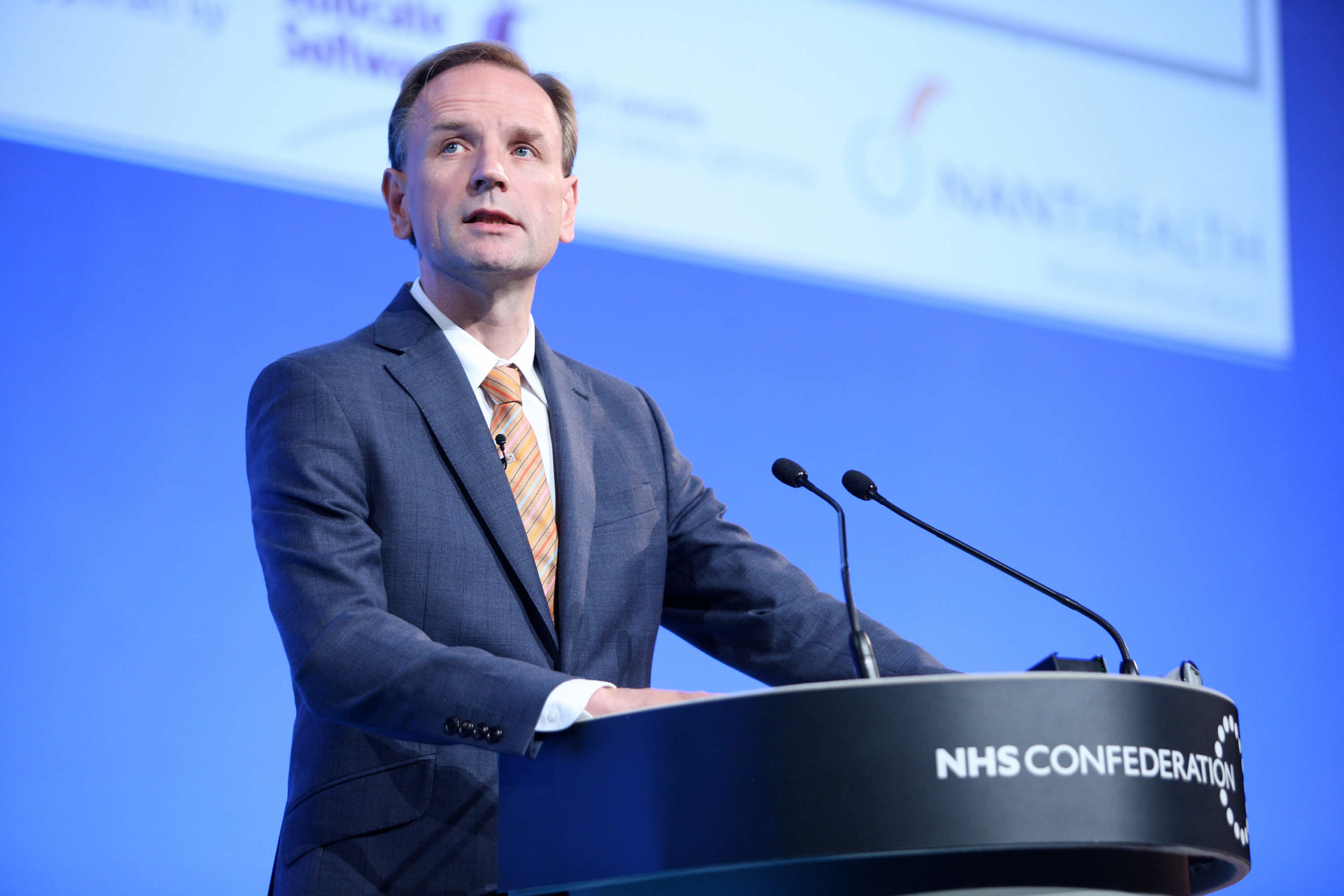 Simon Stevens, Chief Executive of the National Health Service in England