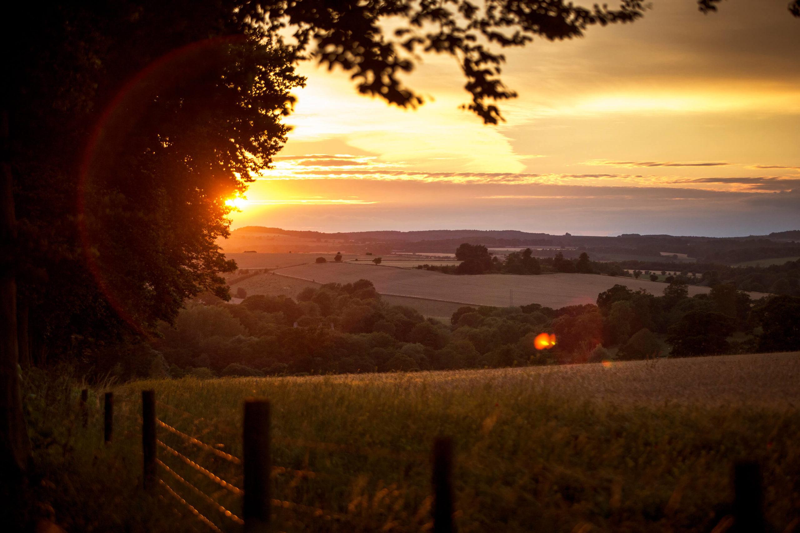 Cotswold landscape for Bloor Homes