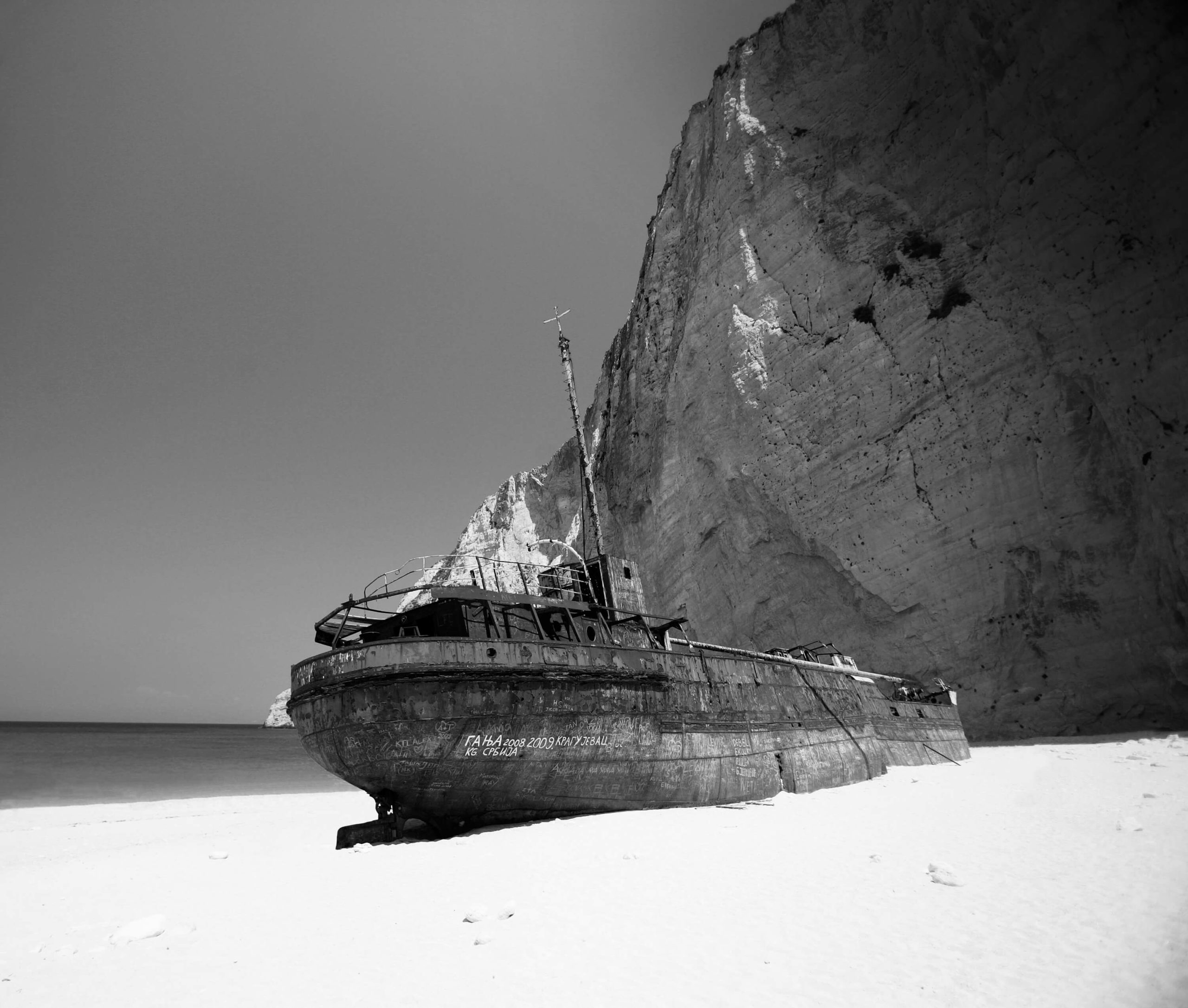 ZANTE SHIPWRECK
