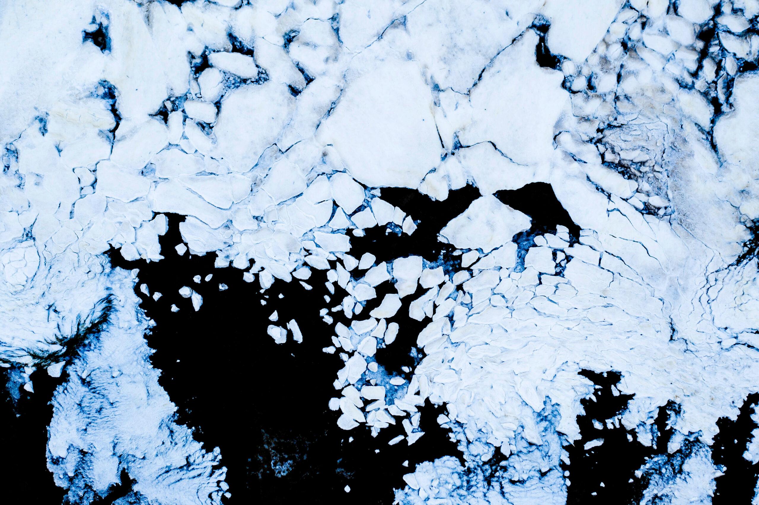 Frozen shores of the River Deben