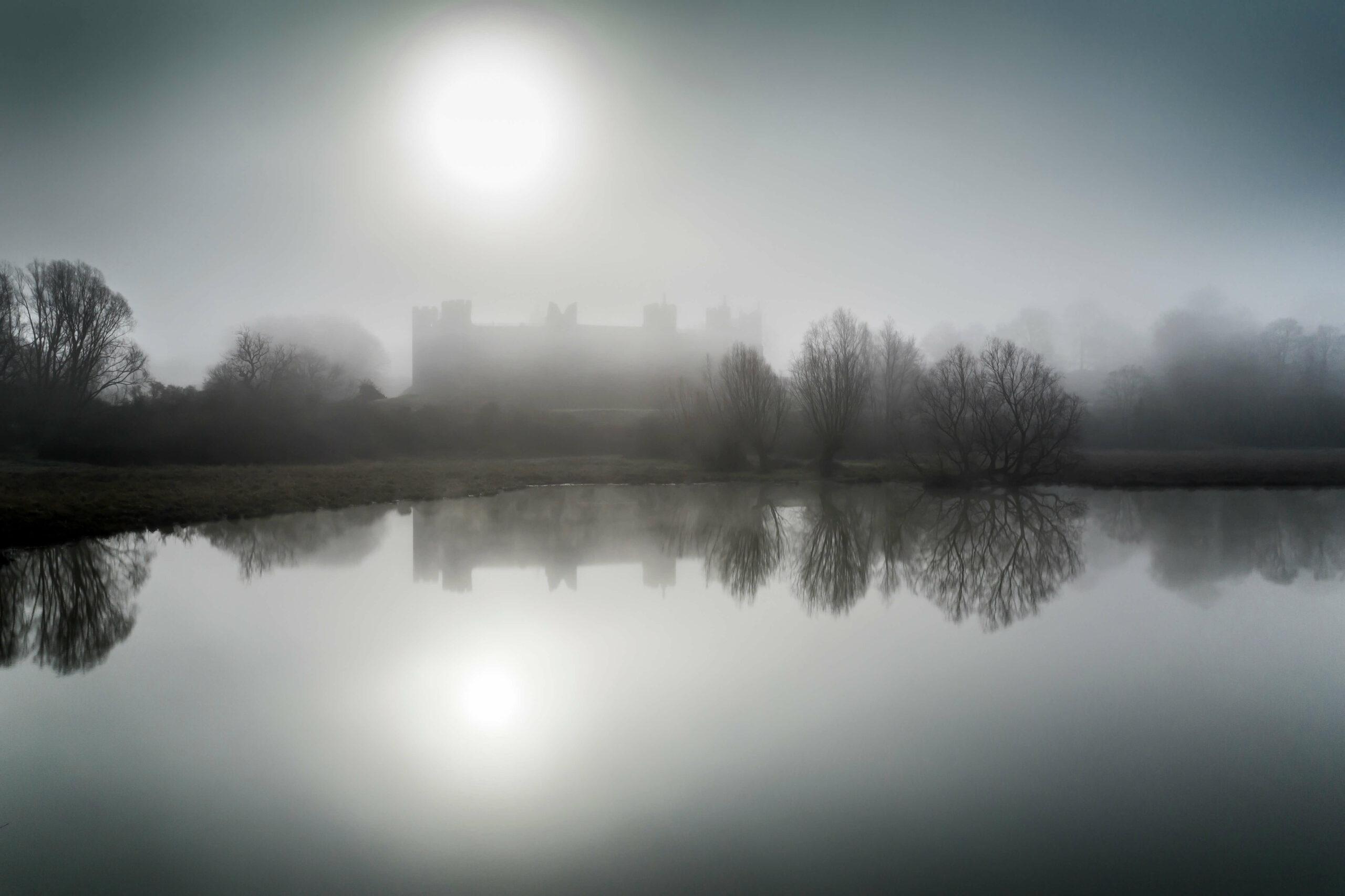 Dawn at Framlingham Castle